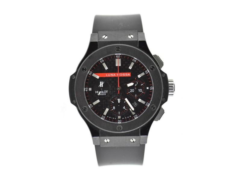 Hublot Big Bang Luna Rossa Black Ceramic Watch 301.CM.131.RX.LUN06