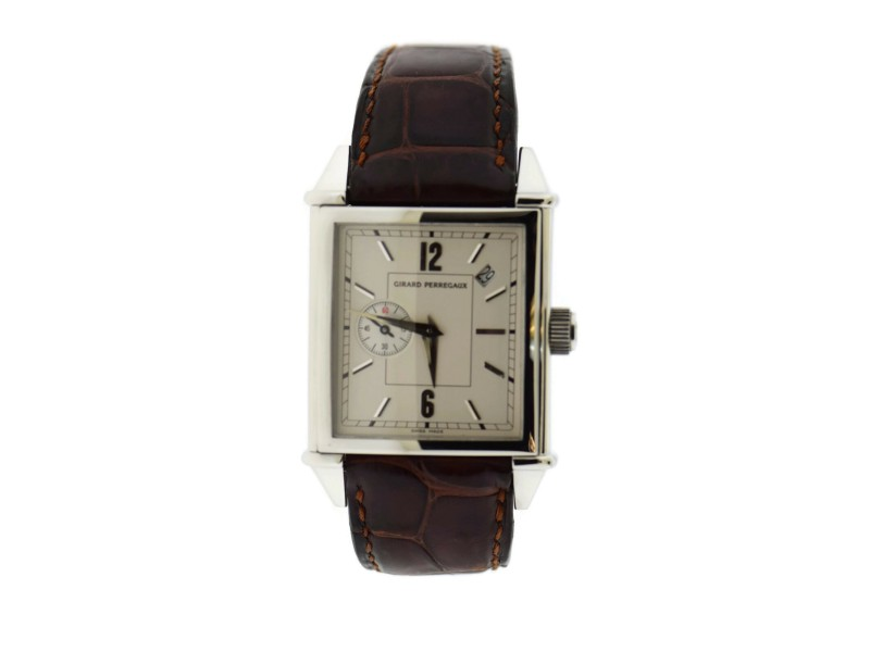 Girard Perregaux Vintage 1945 Stainless Steel Watch 2583