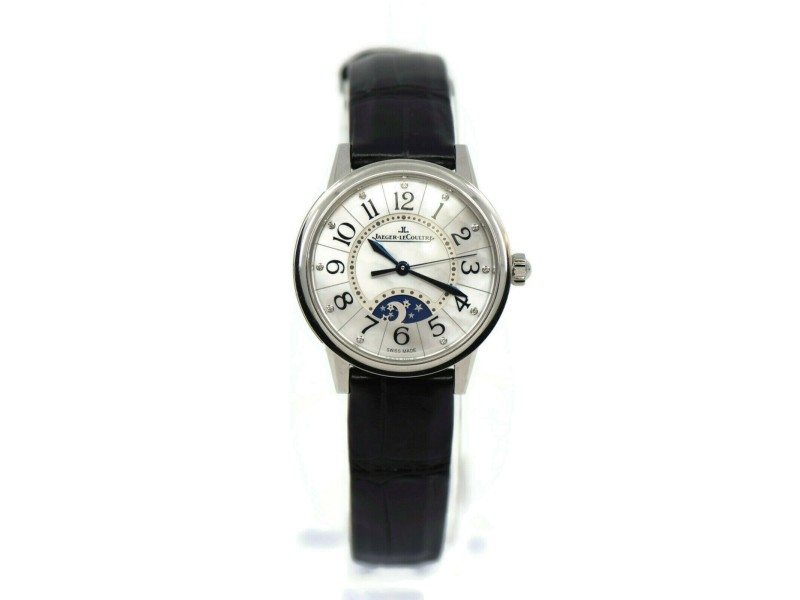 Jaeger LeCoultre Rendez-Vous Night Day Diamond Stainless Steel Watch Q3468490