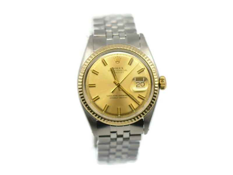 Rolex Datejust 14K/Stainless Steel Watch 1601