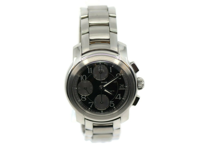 Baume & Mercier Capeland Chronograph Stainless Steel Watch MV045216