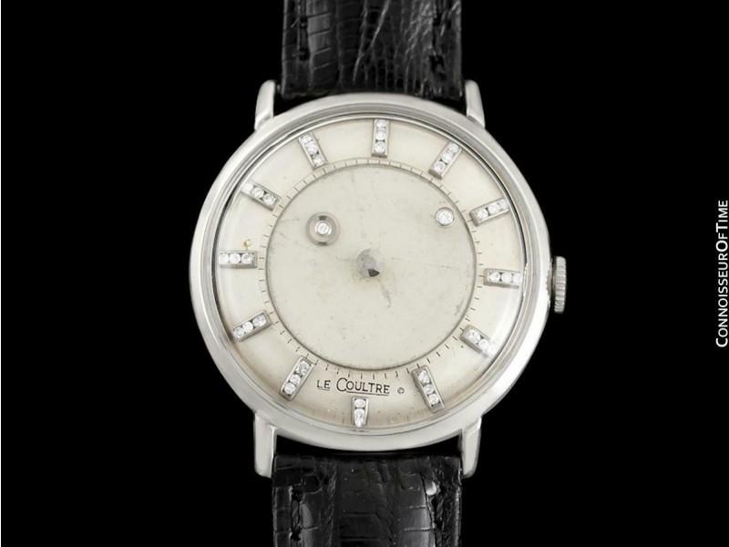 1958 Jaeger-LeCoultre / Vacheron & Constantin Diamond Mystery Dial - 14K Gold