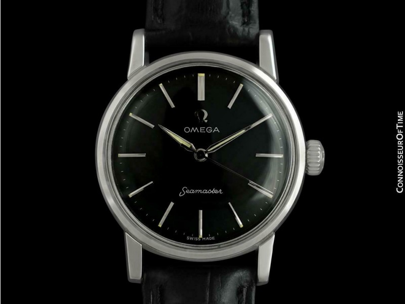 1959 OMEGA SEAMASTER Vintage Mens Seamaster SS Steel Watch - Mint with Warranty