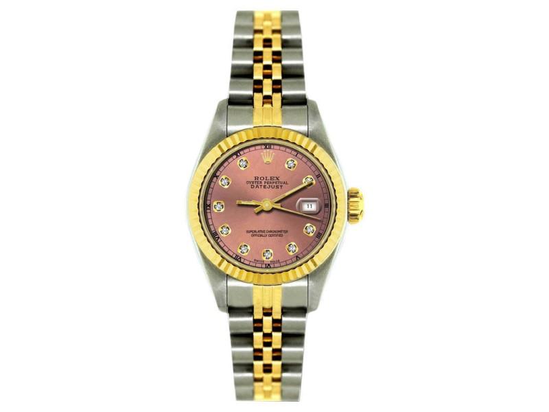 Rolex Datejust 18K Yellow Gold & Stainless Steel 26mm Watch