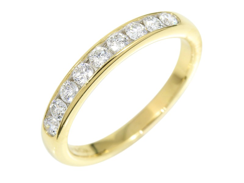 Tiffany & Co. 18K Yellow Gold Diamond Ring