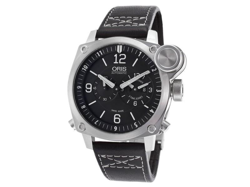 Oris BC4 Flight Timer 690-7615-4164LS Chronograph Stainless Steel Watch