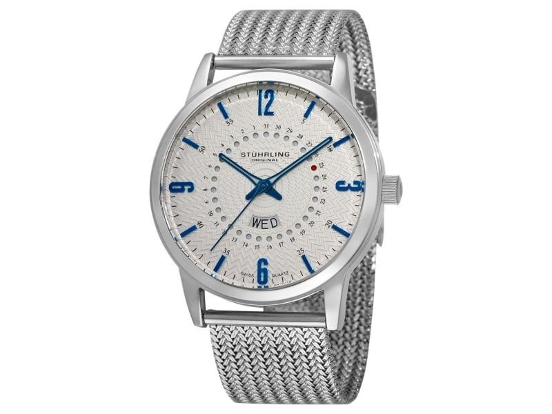 Stuhrling Jupiter 345M.33111 Stainless Steel 46mm Watch