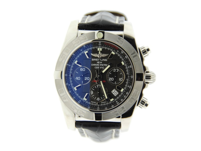 Breitling Chronomat 44 AB011011 Stainless Steel Mens Watch
