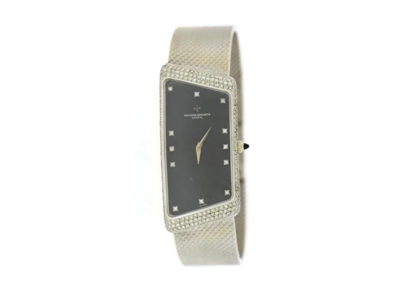 Vacheron Constantin Vintage Prestige De La France Diamond 18K White Gold Watch