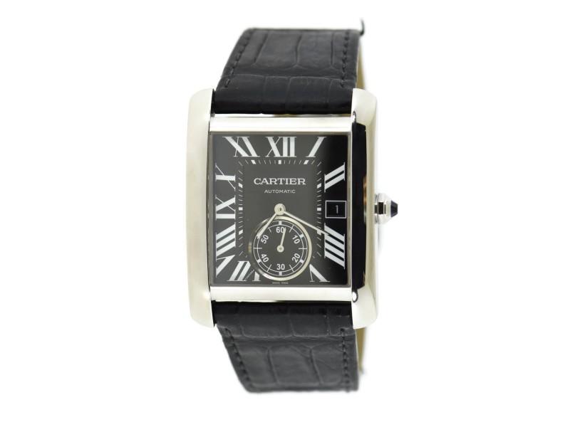 Cartier Tank W5330004 34mm Mens Watch