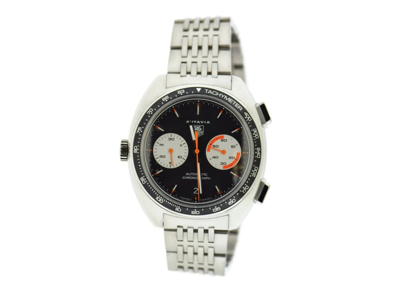 Tag Heuer Autavia CY2111 43mm Mens Watch