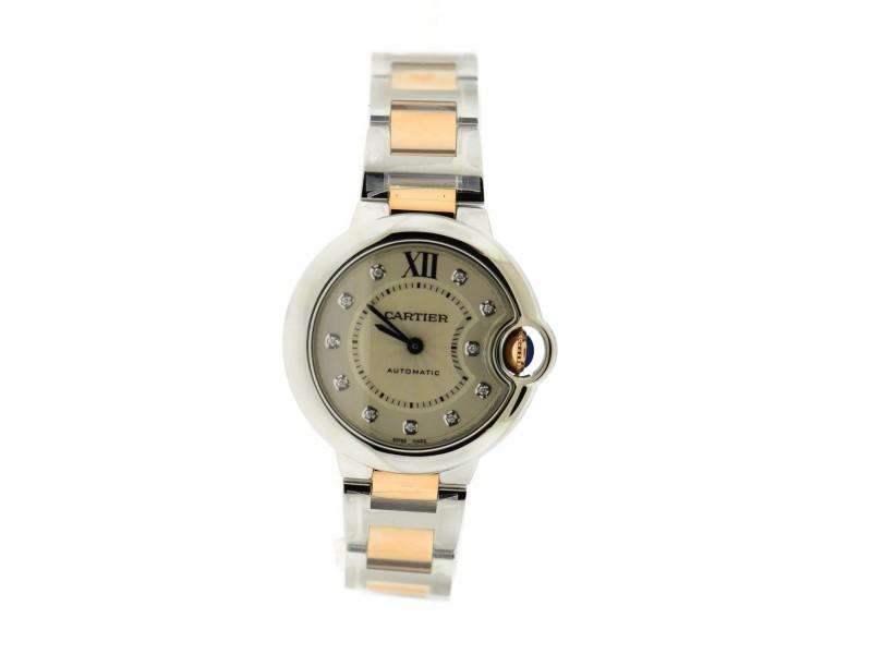 Cartier Ballon WE902061 33mm Womens Watch