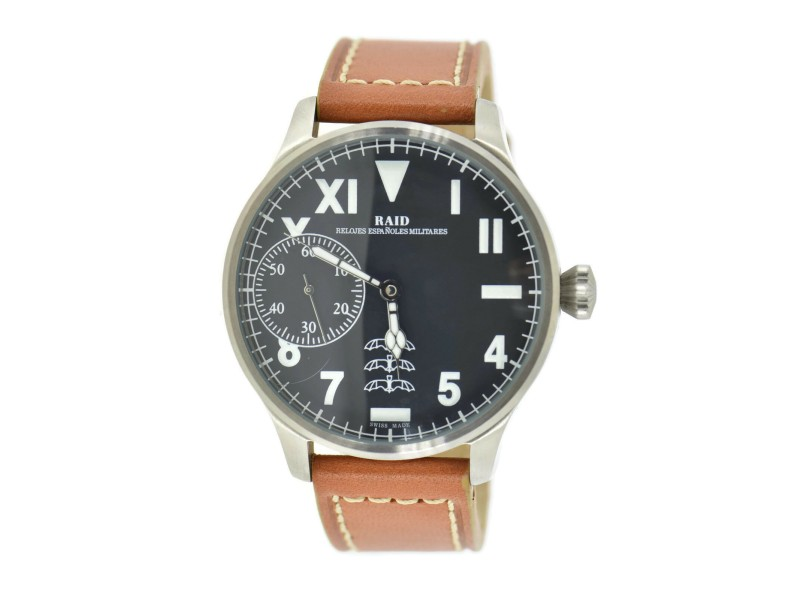 Raid Aviation Stainless Steel Watch M42MBWW