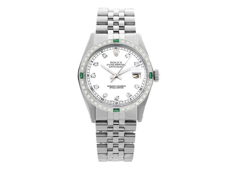 Rolex Datejust 16014 36mm Mens Vintage Watch