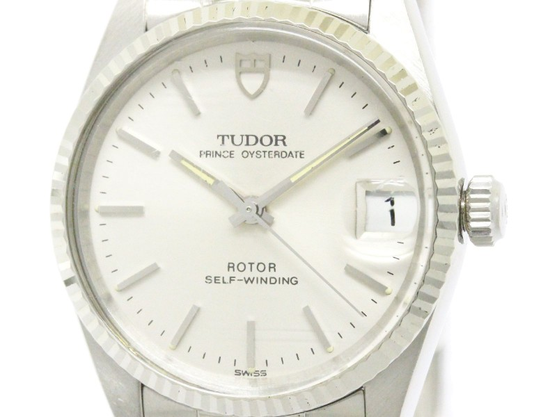 Tudor Oyster Date Stainless Steel Automatic 31mm Mens Watch
