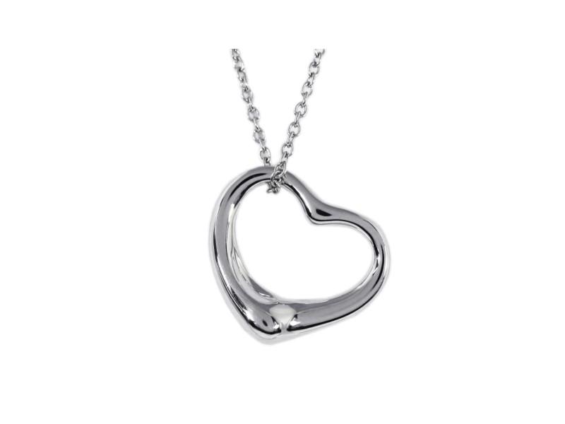 Tiffany Elsa Peretti Sterling Silver  Necklace