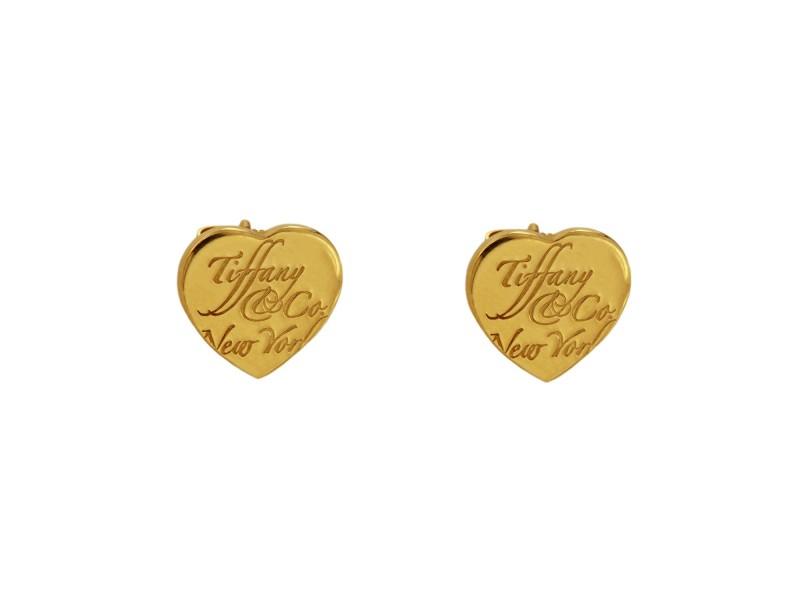 Tiffany   18k Yellow Gold  Earrings