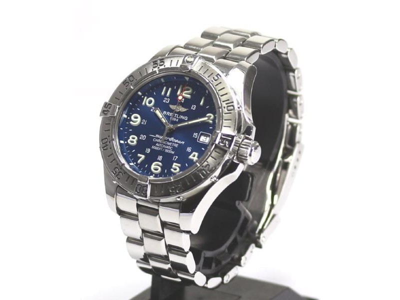 Breitling Superocean Stainless Steel Automatic 42mm Men's Watch
