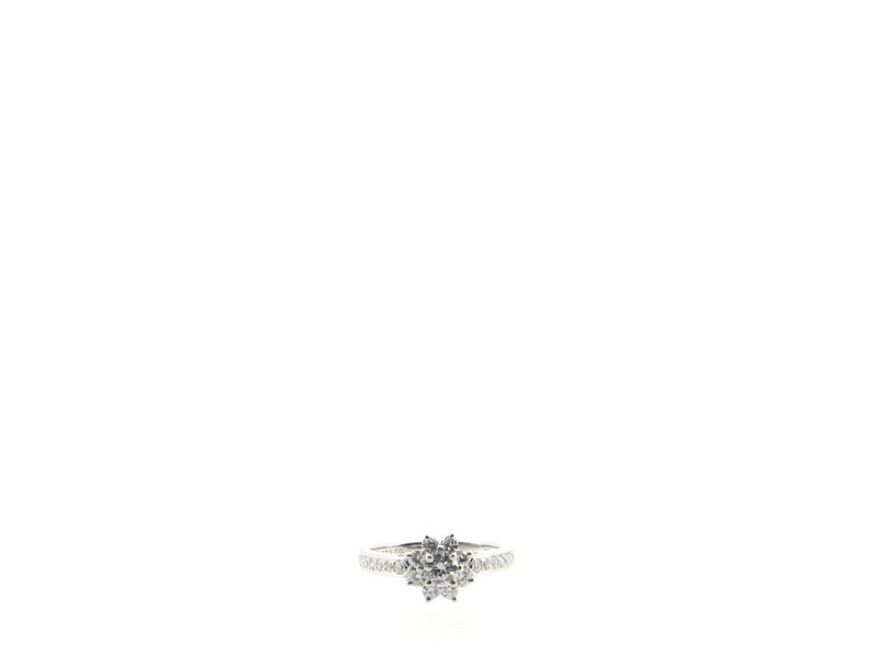 Tiffany & Co. Flora Ring Platinum and Diamonds