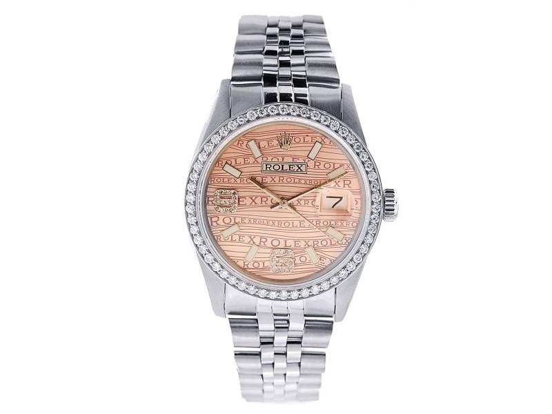 Rolex Datejust 36mm Womens Watch