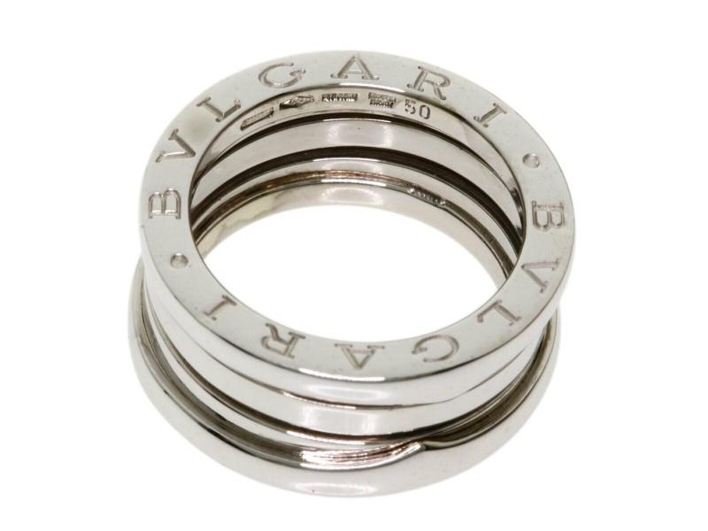 BVLGARI 18k White Gold B-zero1 Ring