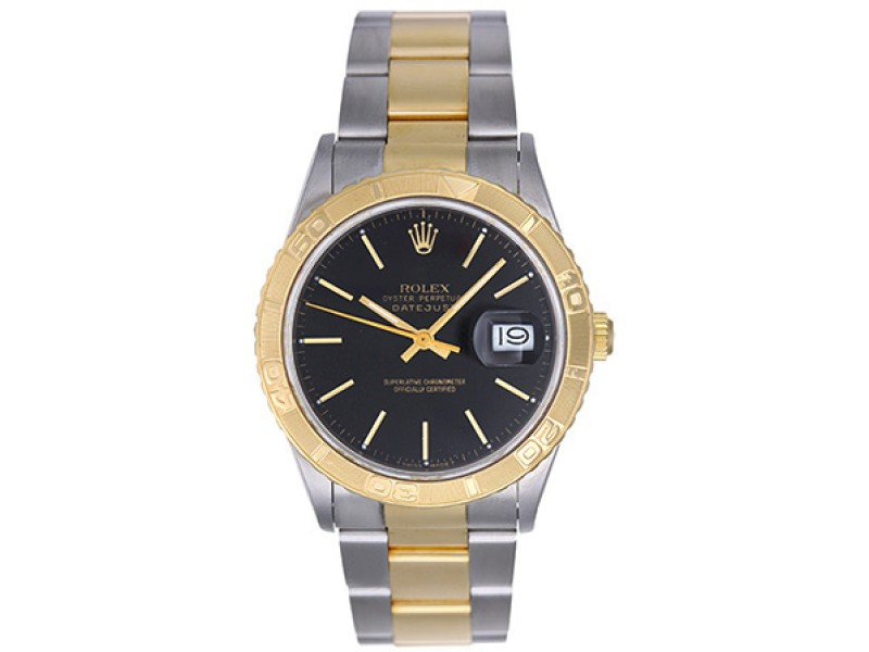 Rolex Turnograph 16263 2-Tone Stainless Steel & Yellow Gold 36mm Mens Watch