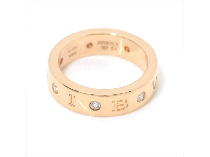 BVLGARI 18k pink gold Diamond Ring