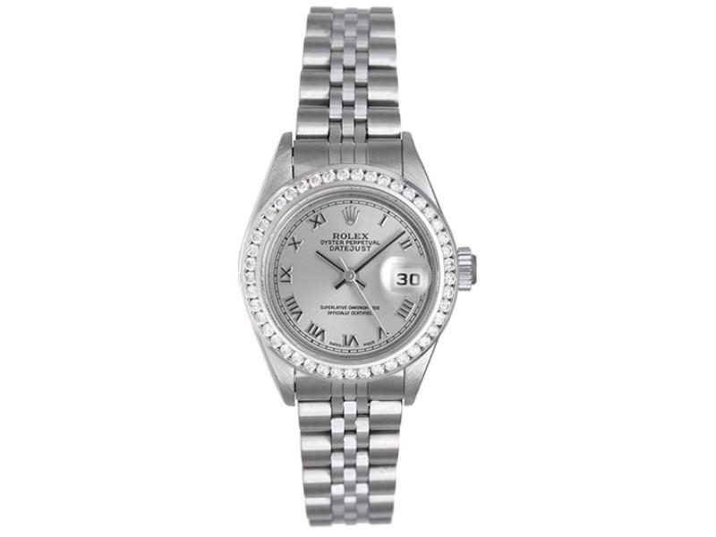 Rolex Datejust 79174 Stainless Steel & 18K White Gold 26mm Womens Watch