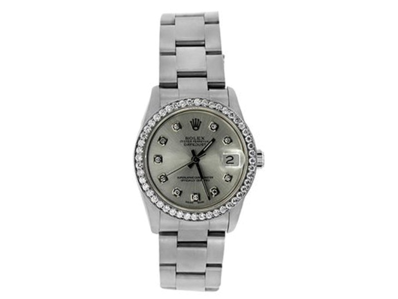Rolex Datejust Stainless Steel Watch 31mm