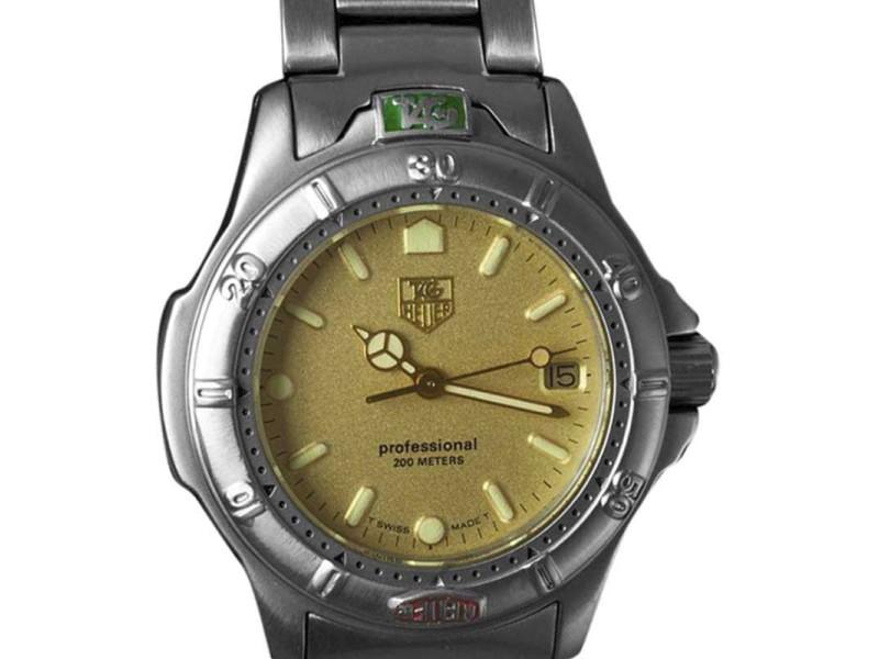 Tag Heuer Professional 4000 995.413K 37mm x 40mm Mens Watch