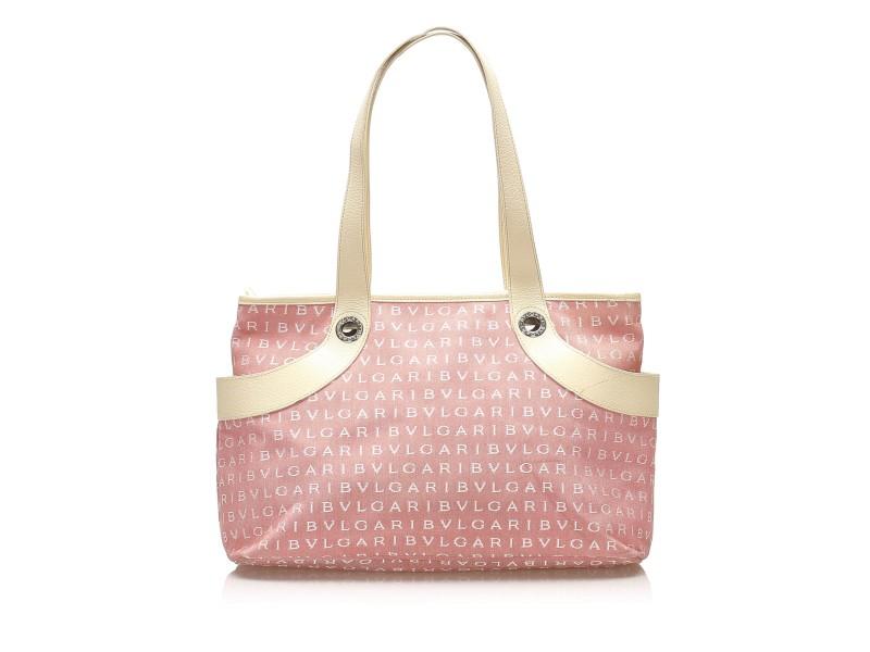 Logomania Canvas Tote Bag
