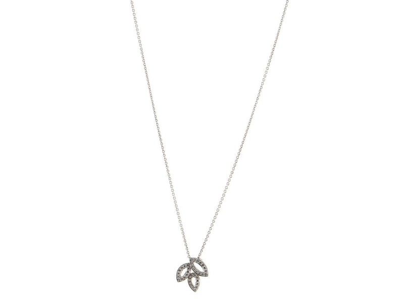 Harry Winston Lily Cluster Pedant Necklace Platinum with Diamonds .19CT