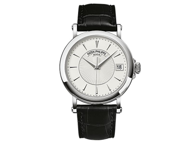 Patek Philippe 5153G 010 White Gold Men Calatrava Watch