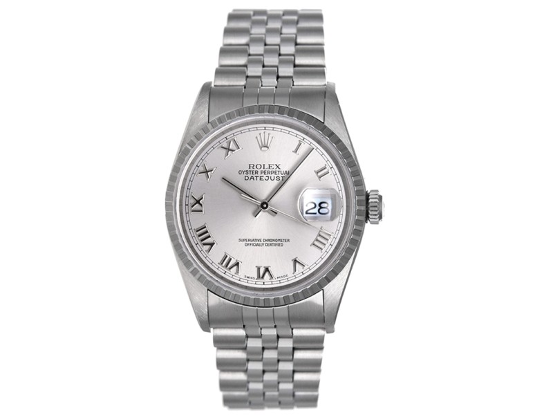 Rolex Datejust 16220 Stainless Steel 36mm Mens Watch