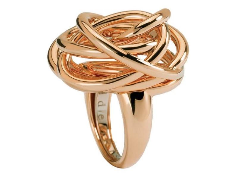 de Grisogono 18K Yellow Gold Contemporary Classic Matassa Ring Size 7