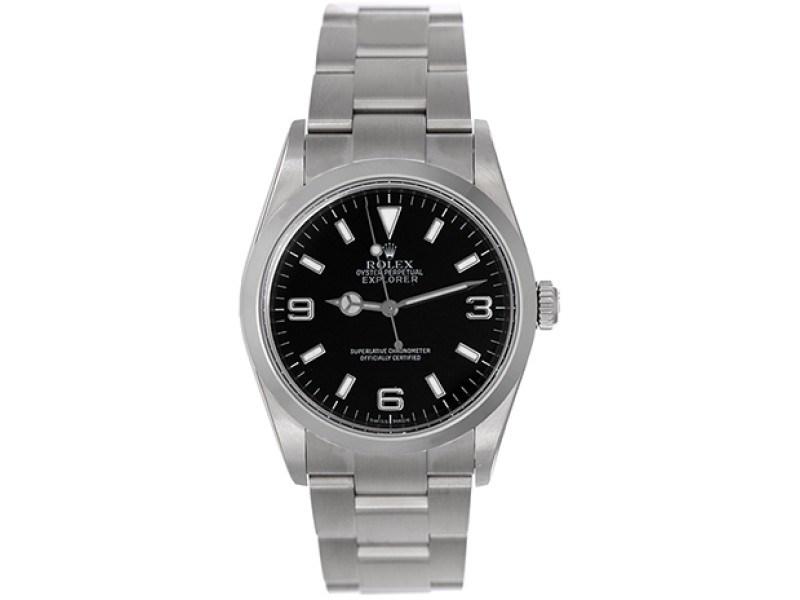 Rolex Explorer 114270 Stainless Steel 36mm Mens Watch