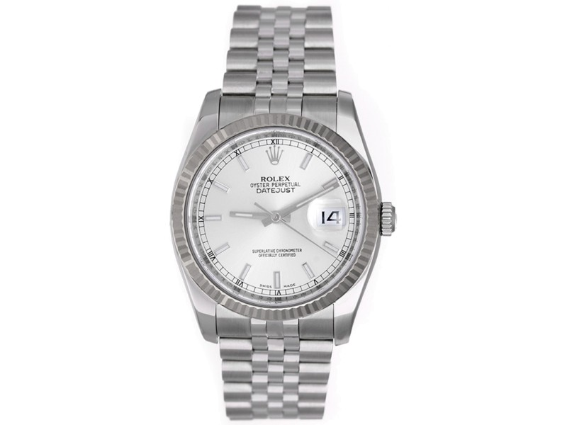 Rolex Datejust 116234 Stainless Steel 36mm Mens Watch