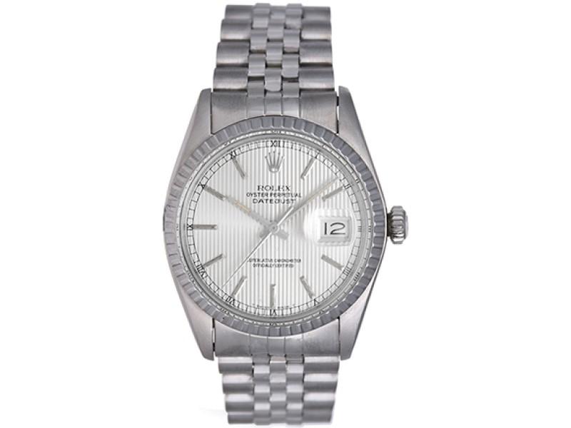 Rolex Datejust 16030 Stainless Steel 36mm Mens Watch