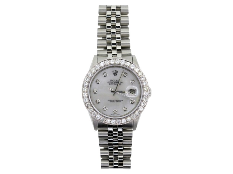 Rolex Datejust Diamond Unisex Watch