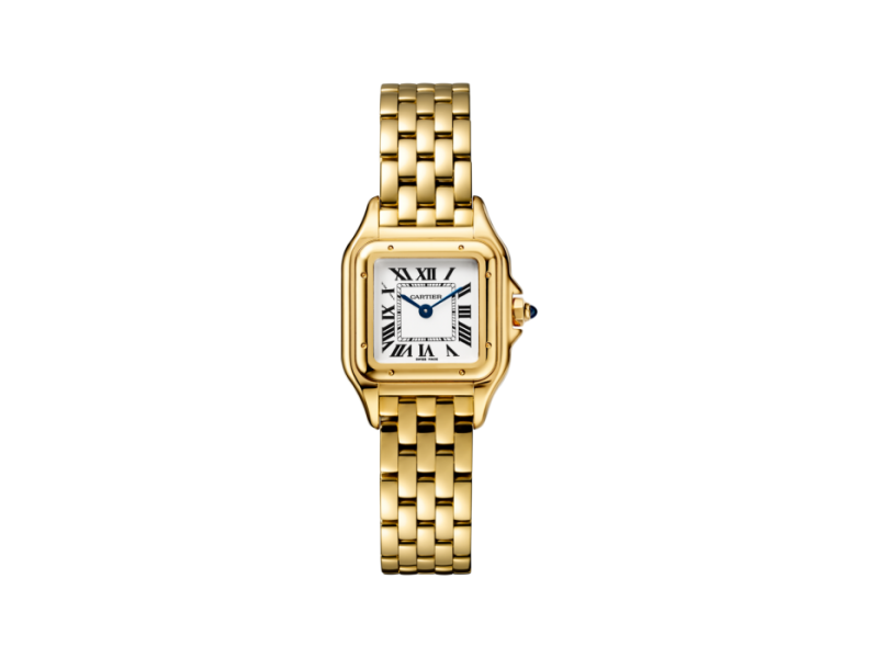 Cartier Panthere de WGPN0008 18K Yellow Gold 22 mm Womens Watch
