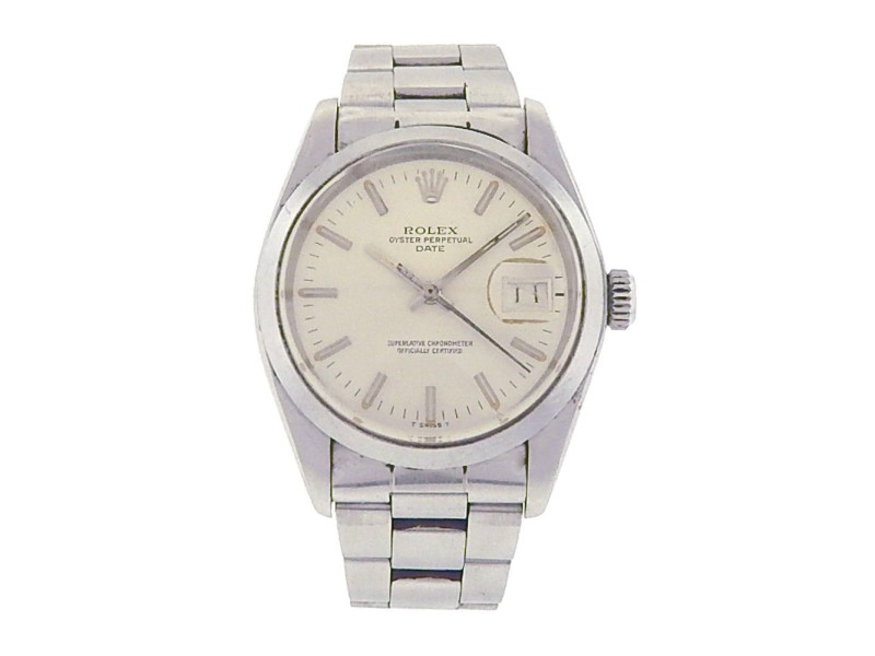 Rolex Air-King 1500 Stainless Steel Oyster Silver Dial Automatic 34mm Men's Watch