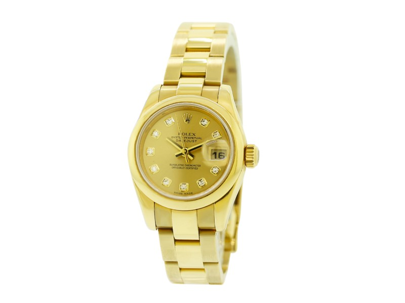 Rolex Datejust 179168 26mm Womens Watch