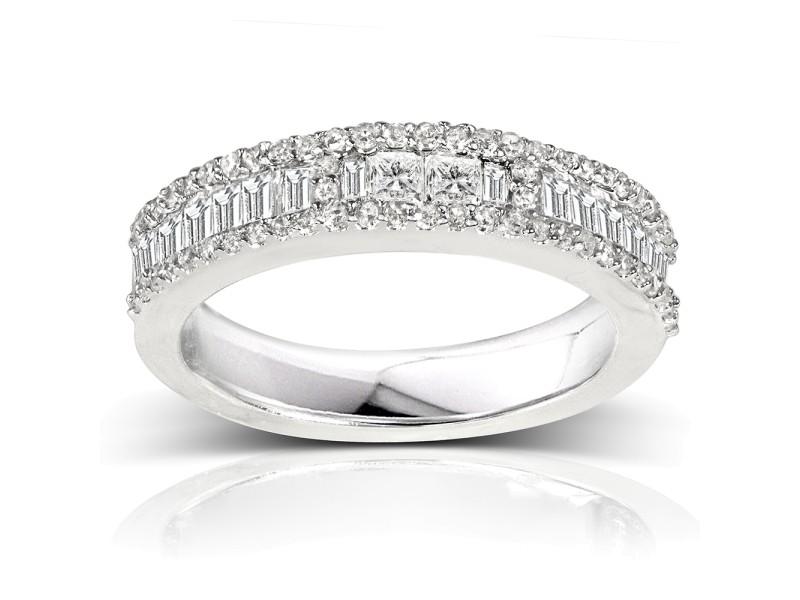 Kobelli Engagement 14k White Gold Diamond Ring