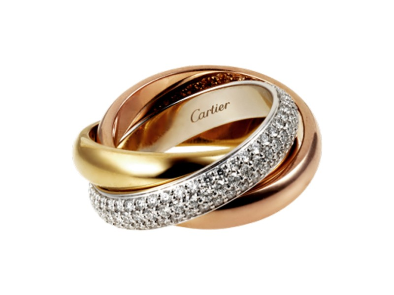 Cartier Trinity De Cartier Ring Size 9 B4038900