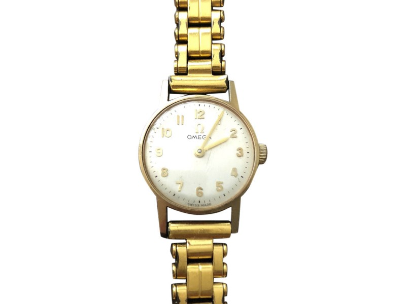 Omega Vintage Womens 20 mm Watch