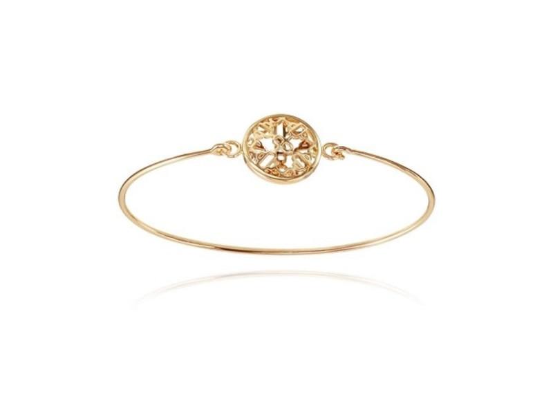 Hermès Chaine d'Ancre Passerelle 18K Rose Gold Bracelet