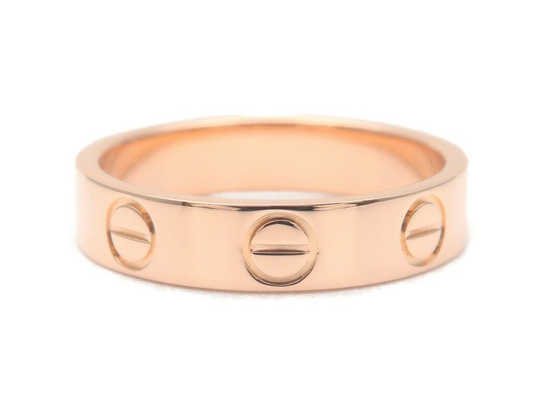 Cartier 18k Rose Gold Mini Love Ring