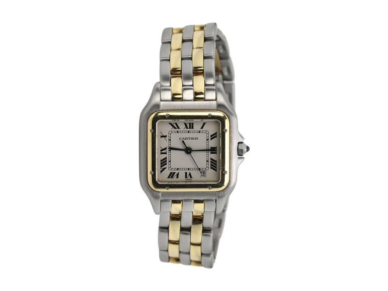 Cartier Panthere de Cartier 18K Yellow Gold & Stainless Steel 22mm Watch
