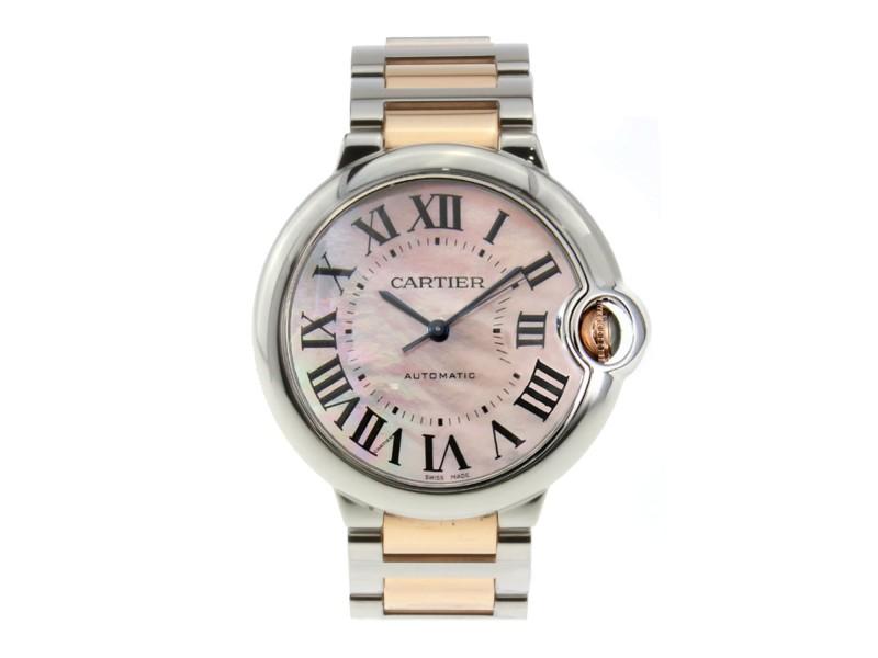 Cartier Ballon Bleu W6920070 Womens 33mm Watch