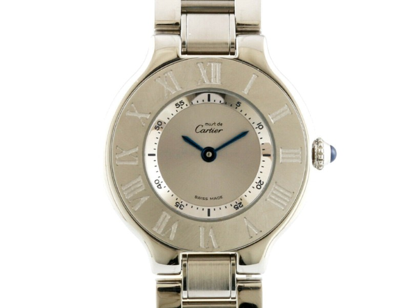 CARTIER Stainless Steel Must Watch